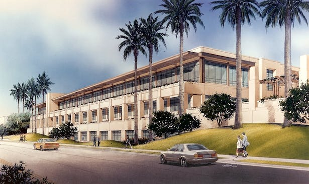 Hoag Memorial Hospital Support Services Building