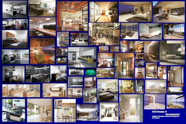 Interior look inspiration Image boards
