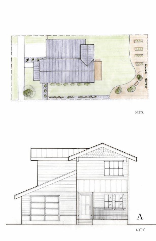 Preliminary design ideas (done in partners with studio member Karen Tse)