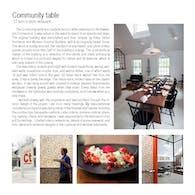 COMMUNITY TABLE RESTAURANT