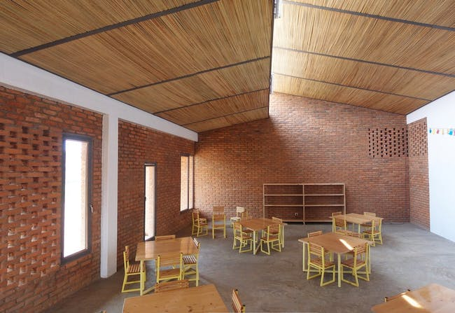 MASS Design Group, Girubuntu School, Kigali, Rwanda (Photo: MASS Design Group)