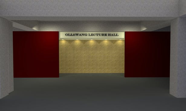 Lecture Hall Entrance