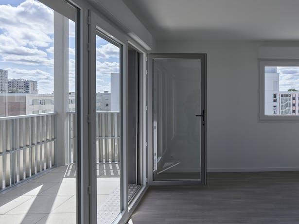 interior to exterior / photo : S. Chalmeau