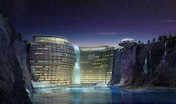 'World's First Underground Hotel' set to open in an abandoned Chinese quarry