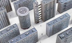 Brutal London cutout replicas commemorate iconic brutalist structures