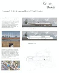 Hunter's Point Rammed Earth Wind Market