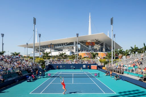 Miami Open Tennis Complex. Rossetti Architects. Photo by Rafael Gamo
