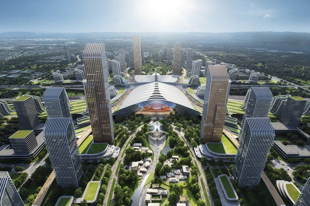 Tianfu New Station TOD Project