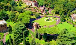 Pope Francis greens Vatican Gardens