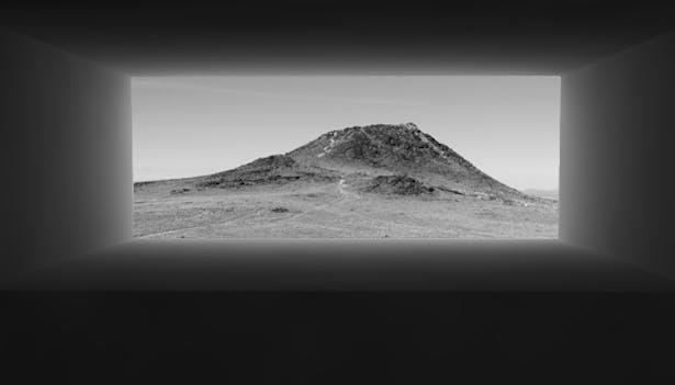 Framed Volcano
