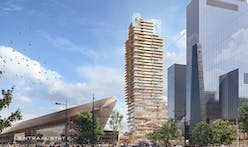 PLP Architecture wins bid to design Holland's tallest timber and concrete tower