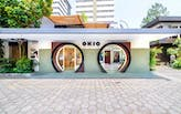 Taller KEN's OKIO boutique is a giant billboard for eyewear
