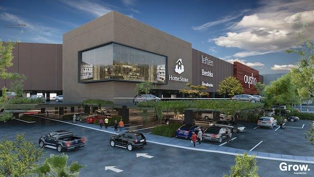 Ampliacion Centro Comercial Las Americas - Grow Arquitectos