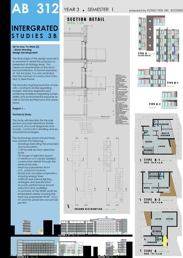 Residential design - structural studies