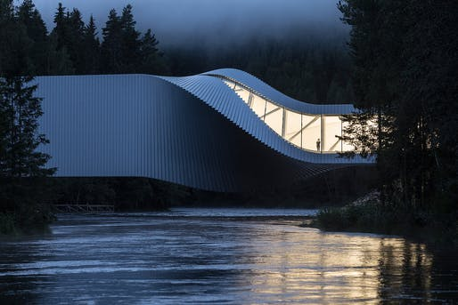 The Twist at Kistefos Museum by BIG | Bjarke Ingels Group. Photo: Laurian Ghinitoiu.