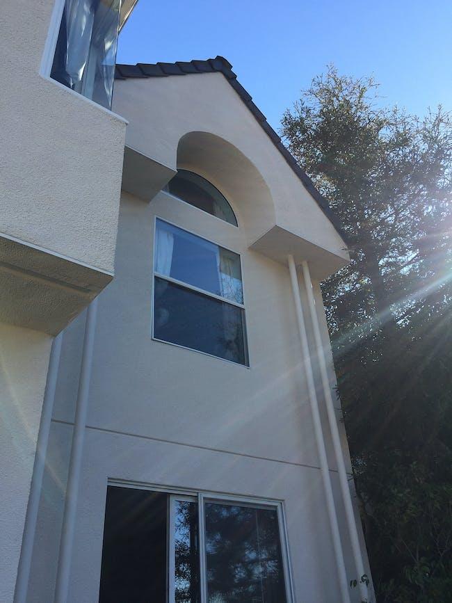 Before - Hollyridge Home. Photo courtesy AUX Architecture.