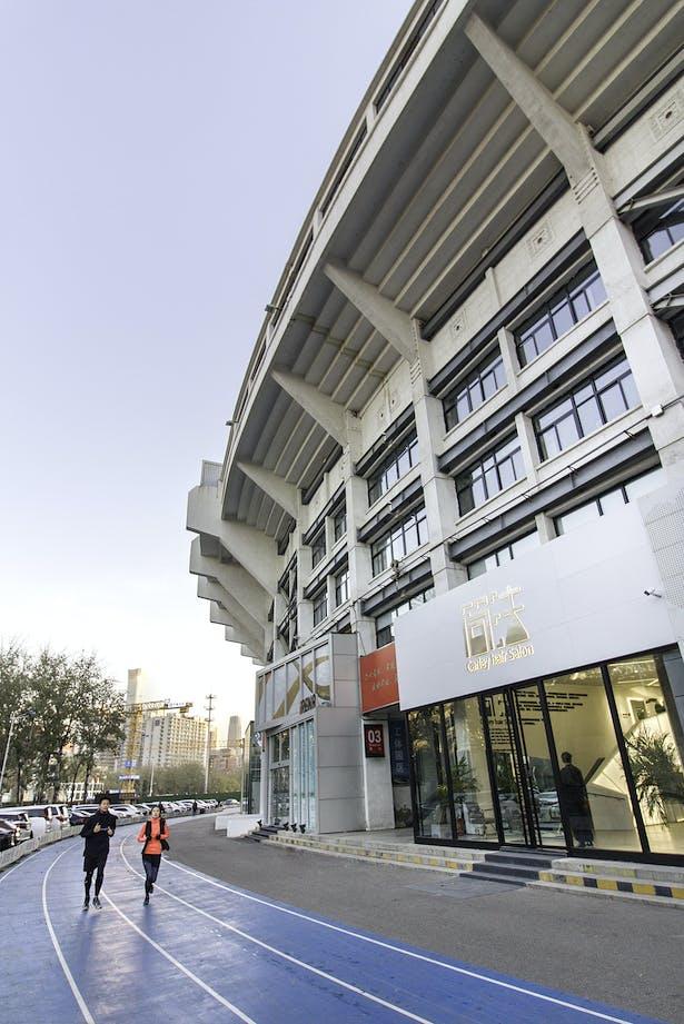 Facade in Stadium context