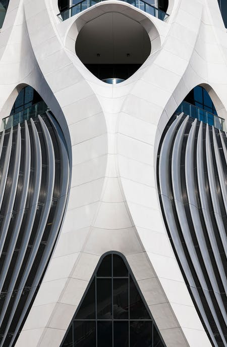 One Thousand Museum in Miami by Zaha Hadid Architects. Image © Brad Feinknopf
