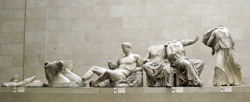 Photo of the Parthenon Marbles, as exhibited at the British Museum. Image courtesy of Flickr user Justin Norris.