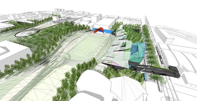 Finalist: Park by KoningEizenberg Architecture + ARUP (United States)