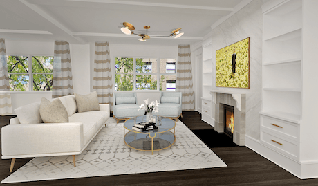 Design proposal for an apartment in the Upper East Side
