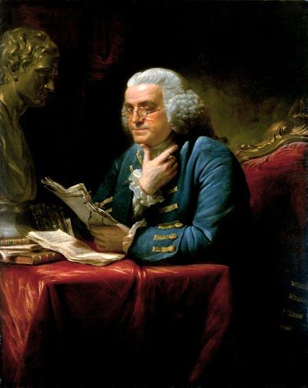 Benjamin Franklin, 1767