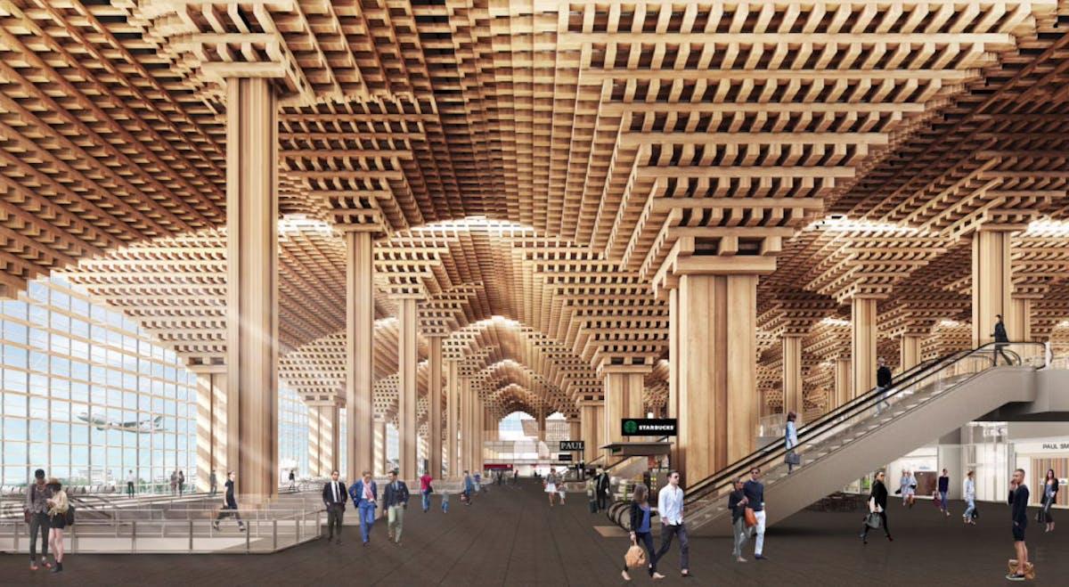 Winning Airport Design Accused Of Plagiarizing Kengo Kuma