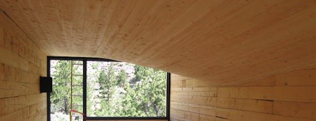 Kiel Moe; Ceiling of StackHouse (Photo: Kiel Moe)