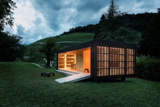 Bex & Arts Pavilion, Bex, Switzerland designed by Montalba Architects. Photo: Montalba Architects.