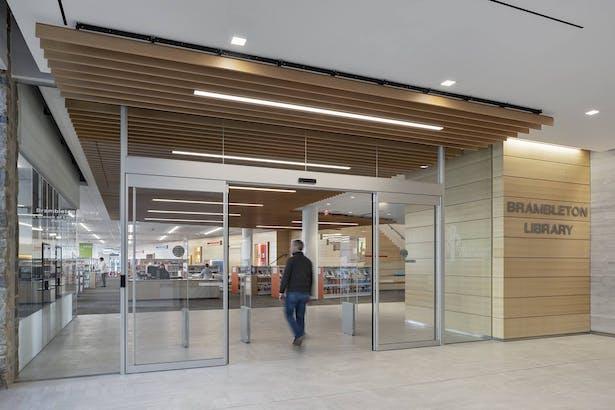 Brambleton Library - entry (1)