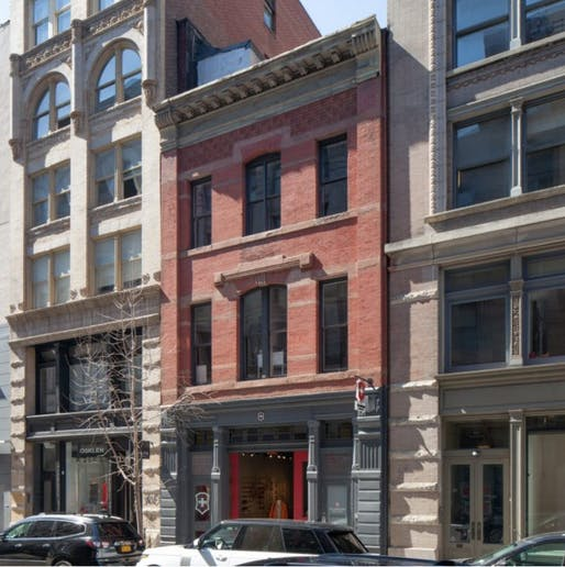 The Gay Activists Alliance Firehouse is a new local landmark in New York City. Image courtesy of New York City Landmarks Preservation Commission.
