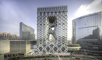 Zaha Hadid Architects' Morpheus hotel in Macau to open tomorrow