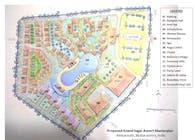 Proposed masterplan for Anand Sagar resort_2019