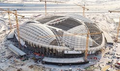 Zaha Hadid's Al Wakrah 2022 FIFA World Cup Stadium in Qatar nears completion