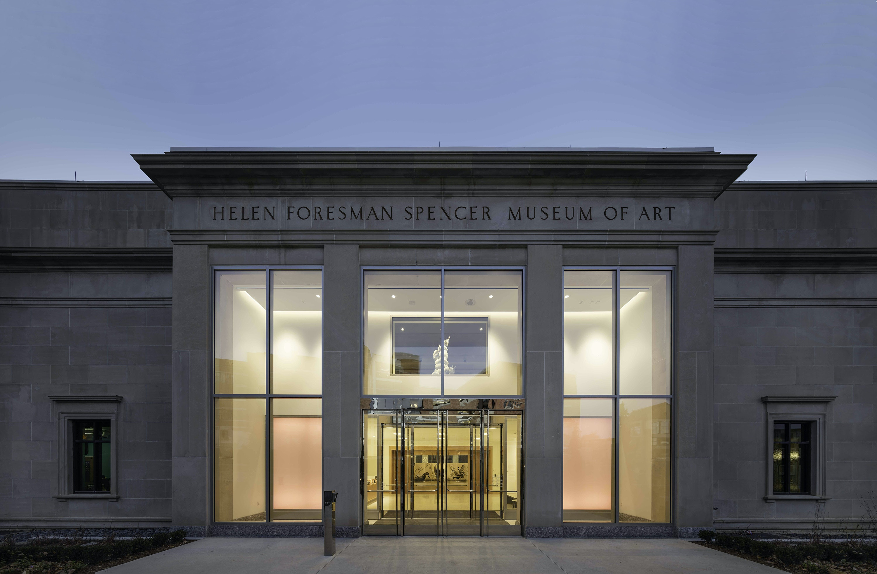 Spencer Museum of Art Renovation, The University of Kansas by Pei Cobb Freed & Partners