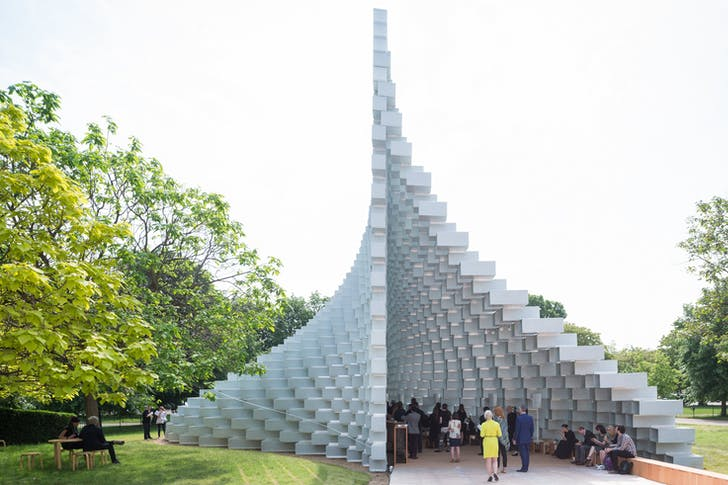 Serpentine Pavilion 2016 designed by Bjarke Ingels Group (BIG); (10 June – 9 October); Photo © Iwan Baan
