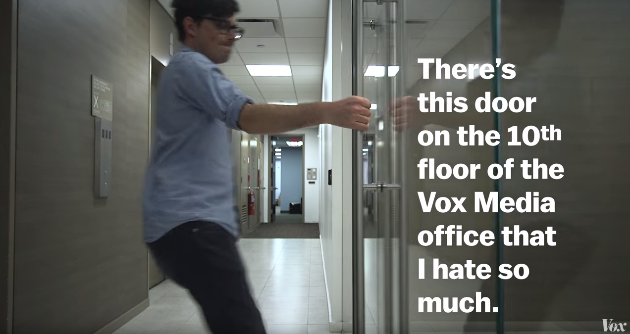 The podcast devoted to all things design 99% Invisible collaborates with Vox Media on a video explaining the backstory to  Norman doors . & The tyranny of bad doors must end.