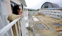 Miyagi completes work on temporary housing