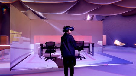 Architecture in Extended Reality (XR) - Hoacheng Dai, Yiliang Wang & Yue Di. Image courtesy of UCLA AUD