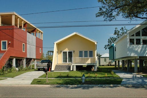 Make it Right Foundation homes in New Orleans' Ninth Ward.