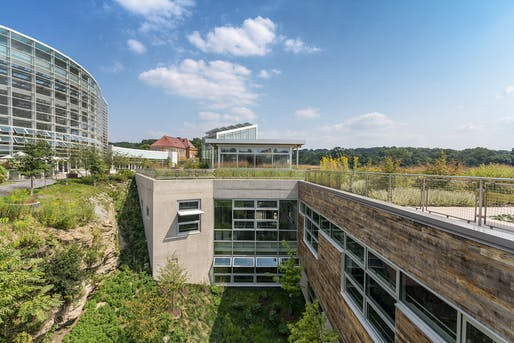 Center for Sustainable Landscapes (CSL); Pittsburgh by The Design Alliance Architects.