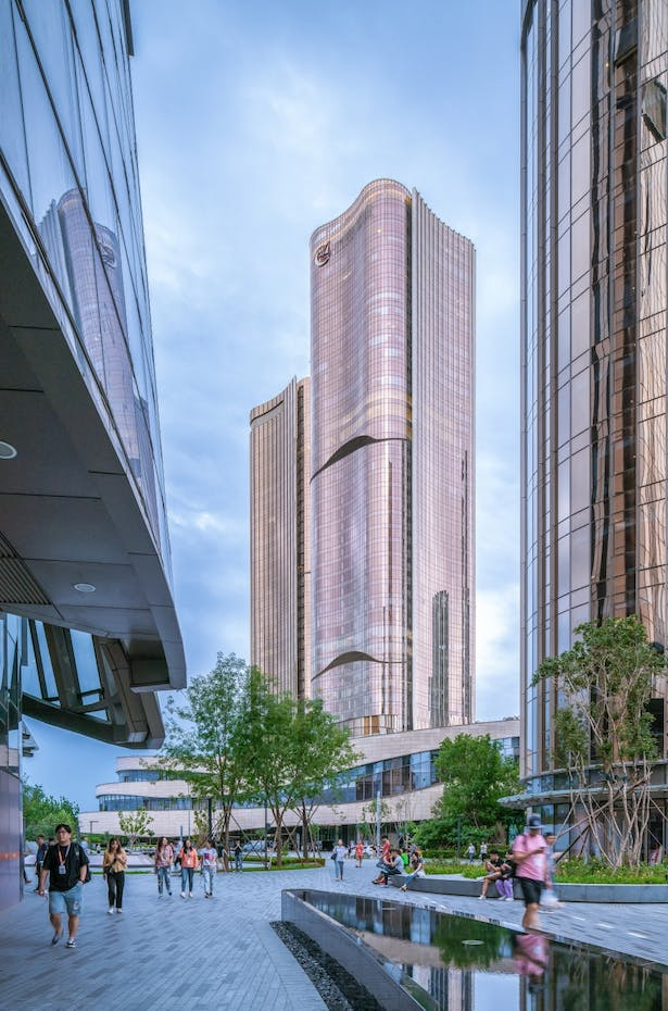 Da Wang Jing Mixed-use Development by Andrew Bromberg at Aedas_Photo by Yilong Zhao