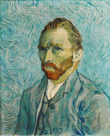 Self Portrait. Vincent van Gogh. 1889