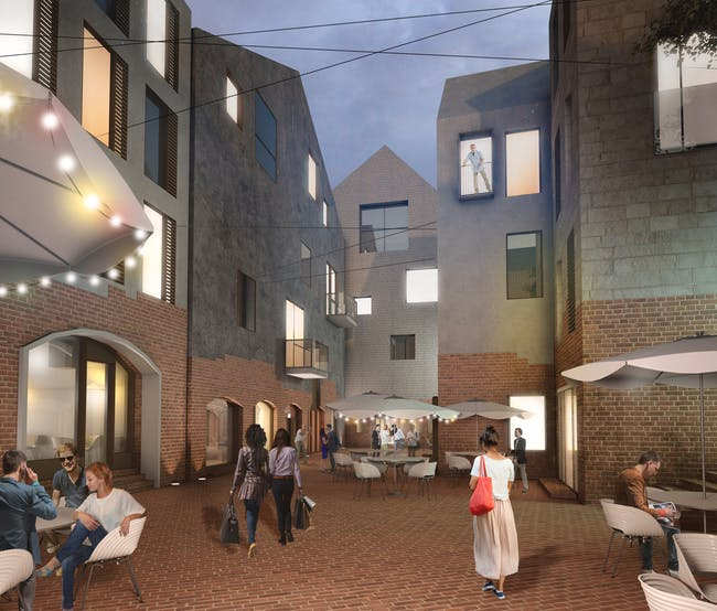 FUTURE PROJECTS - MASTERPLANNING: Kaliningrad Development Concept / Russia. Designed by Studio 44 Architects