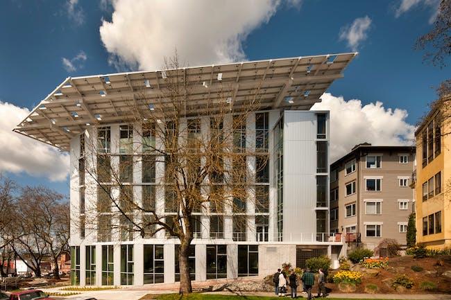 The Bullitt Center; Seattle by The Miller Hull Partnership. Photo: Nic Lehoux