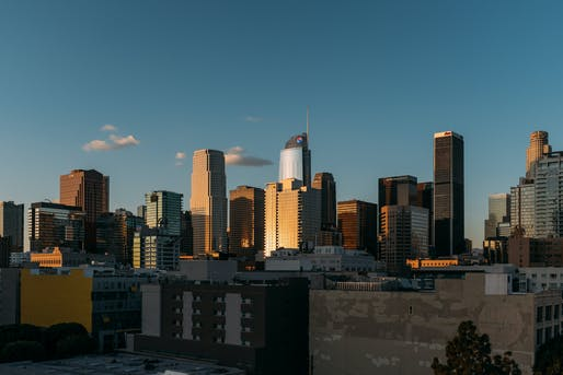 View of Downtown Los Angeles's high rise office towers. Photo by Rich from Pexels.