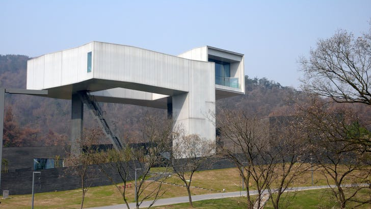 CIPEA - museum of contemporary architecture in Nanjing (photo by Evan Chakroff, via flickr)