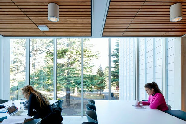 Light filled study spaces (c)Make Architects