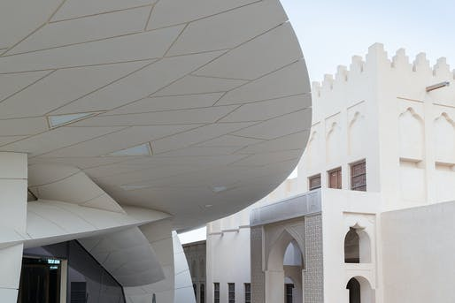 National Museum of Qatar designed by Ateliers Jean Nouvel. Photo: Iwan Baan.
