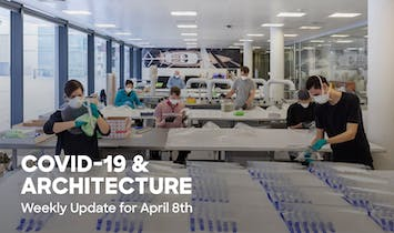 Update for April 8th: Archinect's COVID-19 Guide for Architects & Designers
